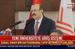 Üniversiteye giriş yeni sınav sistemi nasıl olacak? YÖK Başkanı açıkladı
