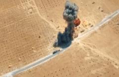 Bombalı araçla saldırı anı böyle görüntülendi
