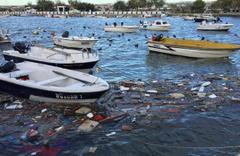 Marmaray'ı fırtına vurdu tekneler battı!
