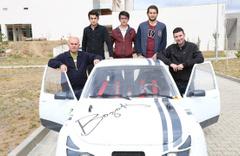 Yozgat Bozok Üniversitesi öğrencileri elektrikli araç üretti