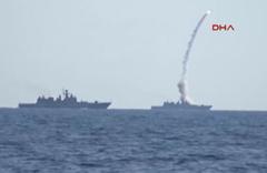 Rus denizaltıları IŞİD hedeflerini vurdu