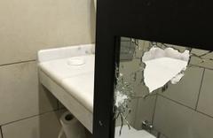 Erdoğan'ın kaldığı oteldeki kurşun izleri görüntülendi