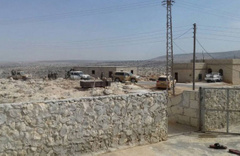 Mehmetçik Suriye'ye geçti! Keşif Timi YPG'yi tepeden izliyor!
