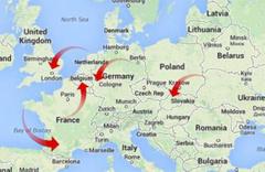 Tüm Avrupa'yı taksiyle gezdi! 81 bin liralık borcunu ise...