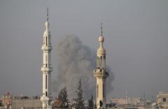 Esed rejimi yine sivilleri hedef alıyor