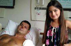 Polis kızının babasına yazdığı şiiir sosyal medyada paylaşılıyor