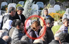 HDP milletvekili yine terörist cenazesinde!