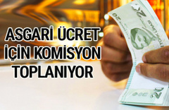 2018 asgari ücret zamlı yeni maaşlar komisyon toplanıyor