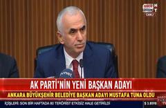 Ankara Belediye Büyükşehir Belediye Başkanı Mustafa Tuna oldu
