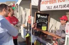 ABD'de dondurma satan FETÖ'cü neye uğradığını şaşırdı
