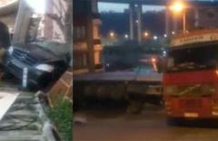 Kağıthane'de korkutan TIR kazası!