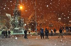 Uşak hava durumu kötü kar yağışı için alarm