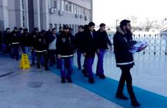 Ankara'daki operasyonda 60 gözaltı