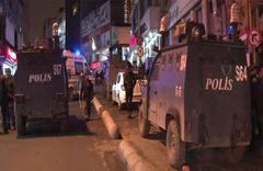 İstanbul'un göbeğinde molotoflu saldırı!