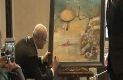 Mehmet Şimşek'in yaptığı tabloya 151 bin TL