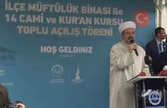Sancaktepe'de 7 cami ile 7 kur'an kursu açıldı
