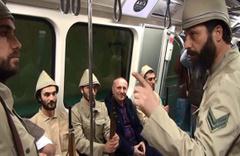 Metroda Çanakkale ruhunu yaşattılar