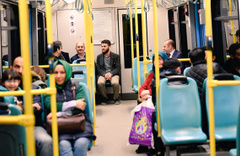 Bakanı metroda görenler gözlerine inanamadı!