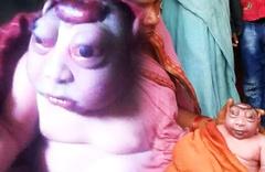 Dünyanın konuştuğu maymun tanrı bebek! Görüntü inanılmaz