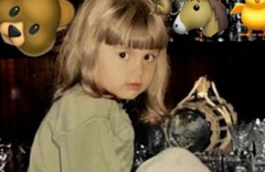 Bu küçük kızı tanıdınız mı?