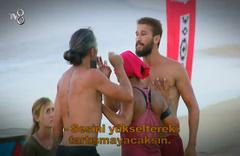 Survivor'da İlhan Mansız ve Adem arasında kavga