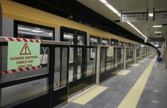 Üsküdar-Sancaktepe Metro Hattı test sürüşleri başladı