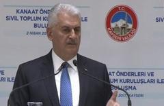 Yıldırım'dan PKK'ya referandum cevabı
