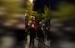 Kadıköy'de ezan okunurken çirkin protesto