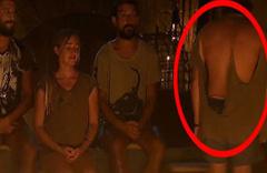 Furkan'ın tişörtü paramparça oldu!
