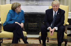 Merkel ve Trump Erdoğan'ın dedikodusunu yapmışlar!