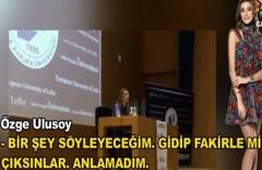 Özge Ulusoy: Mankenler fakirlerle mi çıksın