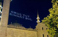 İmsakiye 2017 Yozgat Diyanet Ramazan imsakiyesi