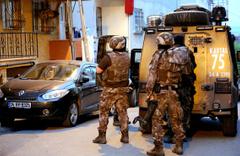 İstanbul'da eş zamanlı PKK operasyonu