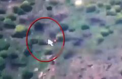 Sızma girişiminde bulunan PKK'lıların vurulma anı