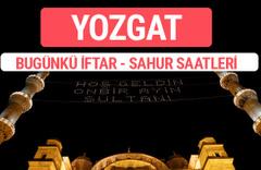Yozgat iftar vakti 2017 sahur ezan imsak saatleri