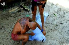 Survivor yarışmacıları fare yakaladı
