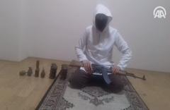 DEAŞ'lı teröristlerin eylem hazırlığı görüntülerine ulaşıldı
