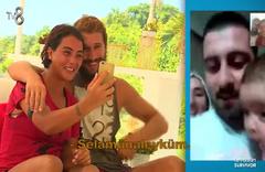Survivor'da Sabriye ailesiyle Adem'i telefonda tanıştırdı
