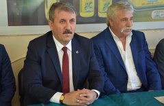 BBP lideri Mustafa Destici'den şok iddia: Bu yürüyüşün sonlarına doğru...