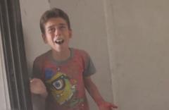 Babasını kaybeden Suriyeli çocuğun yürek yakan feryadı