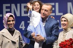 Yeniden dede olan Erdoğan'ın kaç torunu var?