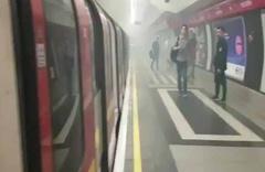 Londra metrosunda yangın!