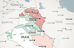 Irak'ı bölecekler! 25 Eylül'de Kürdistan kıyameti kopacak
