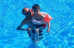 Beş yıldızlı otelin havuzunda dehşet anları