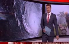 BBC sunucusunun canlı yayında şaşkınlık anları