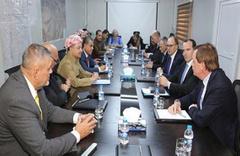 Mesud Barzani'yi sıkıştırdılar! Masaya oturduğu ülkelere bakın!