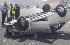 Niğde'de otomobil devrildi: 1 ölü, 2 yaralı