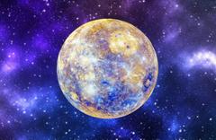 Merkür'de büyük buz depoları keşfedildi
