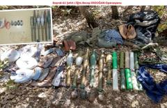 Diyarbakır Dicle kırsalında PKK cephaneliği bulundu