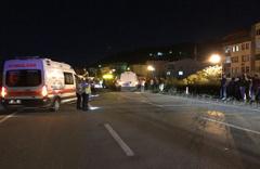 Giresun'da minibüsün çarptığı kadın öldü